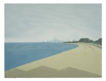 Claus Haensel: View of Chicago